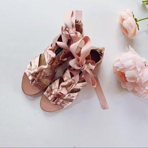 Alice + Olivia Shoes - Alice + Olivia By Stacey Bendet Satin Sandals